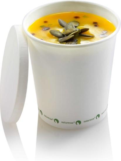 Suppenbecher 360ml aus Zellulose ohne Deckel