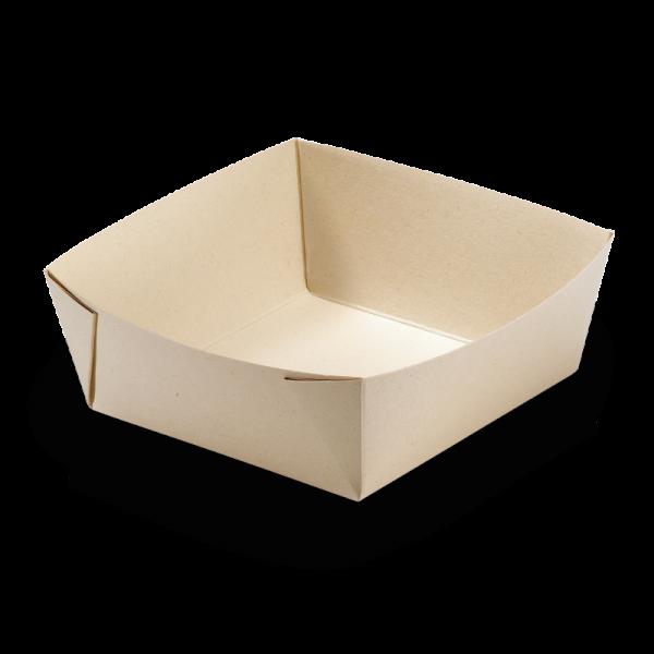 naturesse Take away Box Kraft/PLA 197x140x90mm 2500ml