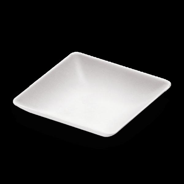 naturesse Zuckerrohr Dip-Schale Teller 6,5x6,5x1,2cm