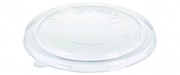 naturesse PLA Deckel zu Dessertbecher Ø15,0cm 17011, 17012