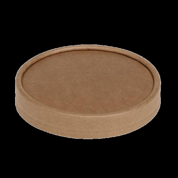 Deckel ohne Steamlöcher zu Suppenbecher Kraft 15531, naturesse