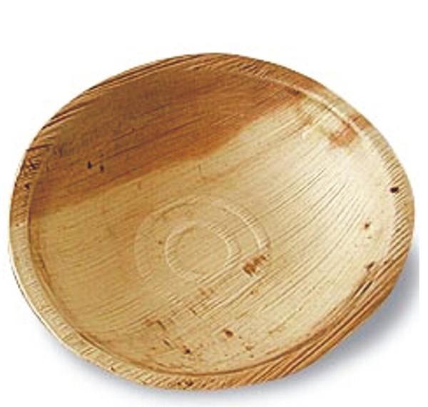 Palmblatt Teller rund Ø 18 cm, 2,5 cm Tiefe -Valencia