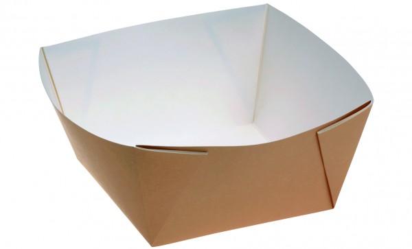 Kartonbox braun 1500ml - 170x170x85mm
