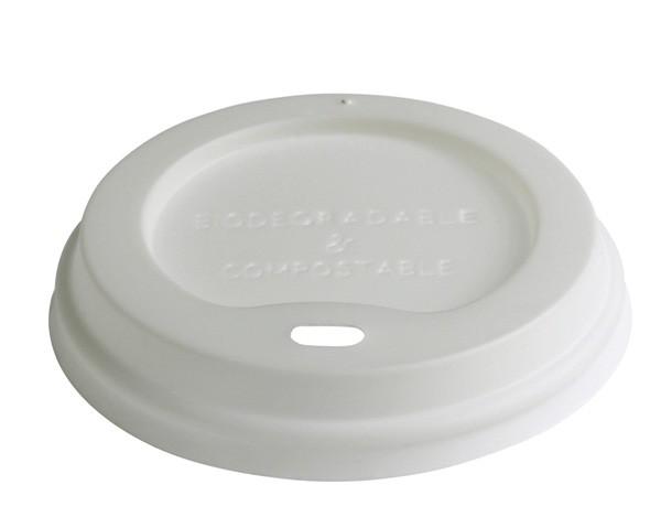 CPLA Kaffedeckel 300ml, biologisch abbaubar