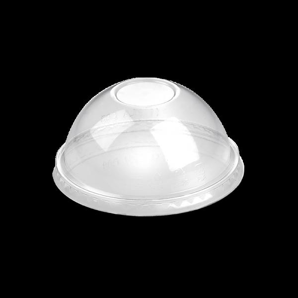 PLA Dom-Deckel ohne Loch zu Becher mit Ø 9,6 cm