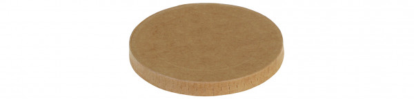 Deckel Kraft/PLA Ø105mm zu Eisbecher 17902, naturesse