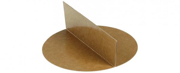 Trennsteg, Kraft zu Schale 17012 Karton/ double PE Ø150mm