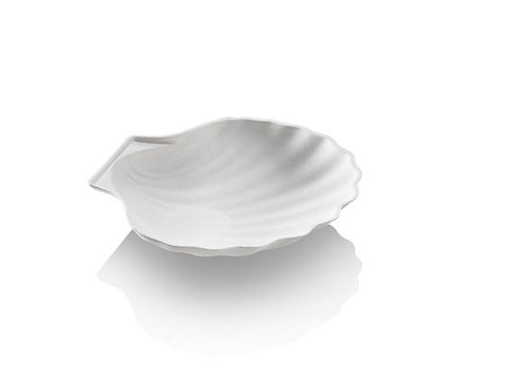 Zuckerrohr Schale Seashell klein 12,2x11,4cm