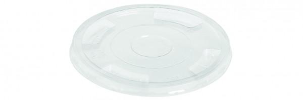 naturesse PLA Flach-Deckel ohne Loch zu Becher Ø9,6cm