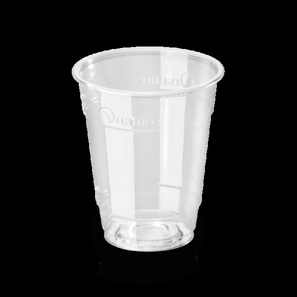 PLA Trinkbecher klar 0,2 l, 100 mm x 76 mm