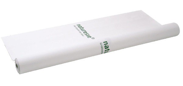 naturesse Tischtuchrolle Papier/MaterBi bedr. naturesse, 116cm, 25lfm