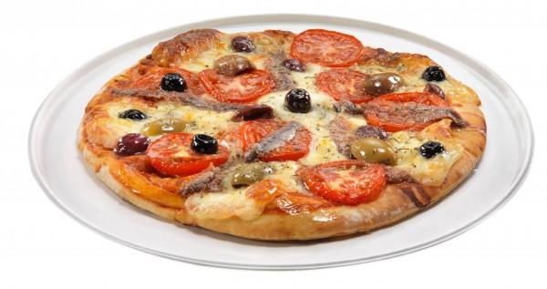 Zuckerrohr Pizza Teller 32 cm