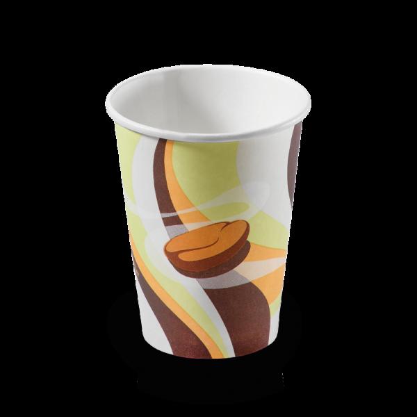 "Kaffee Kartonbecher ""retro"" 0,2l, naturesse"