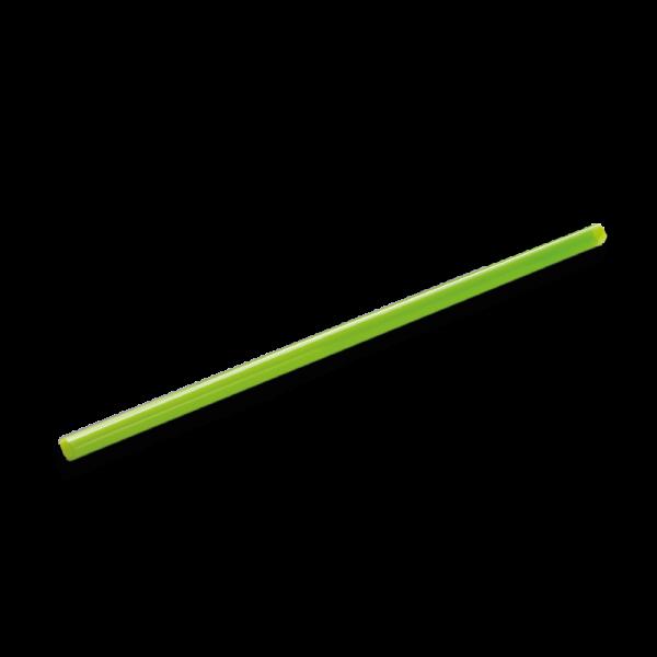 Trinkhalm grün (PLA), 250 x 6,5 mm