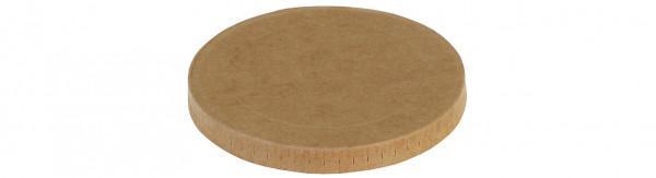 Deckel Kraft/PLA Ø105mm zu Eisbecher 17903, naturesse