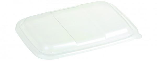 Domdeckel PP transparent, fest schließend mit Inneneinzug für 15551, 15552, 18009, 18010