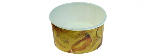 Eisbecher aus Zellulose - 90 ml - Tipo 80 , Farbe: Gelb