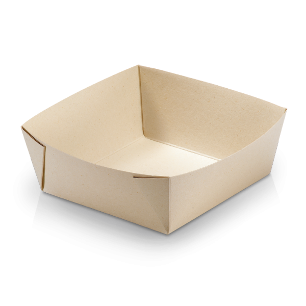 naturesse Take away Box Kraft/PLA 197x140x48mm 1300ml