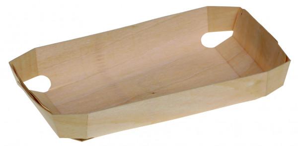 Holzbackform genäht Freiburg 235x140x40mm ca. 1000ml