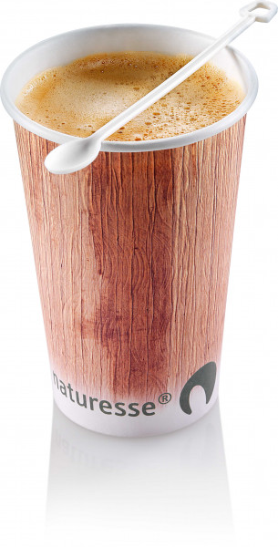 naturesse Kartonbecher 2,0dl, Ø8cm - Palmblatt