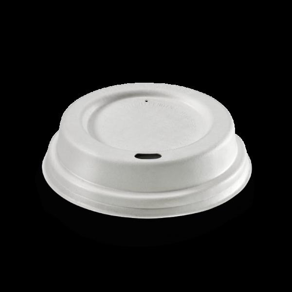 ZR Domdeckel weiß, 80mm, zu 2dl Kaffeebecher, naturesse