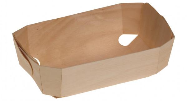 Holzbackform genäht München 180x115x57mm ca. 500ml