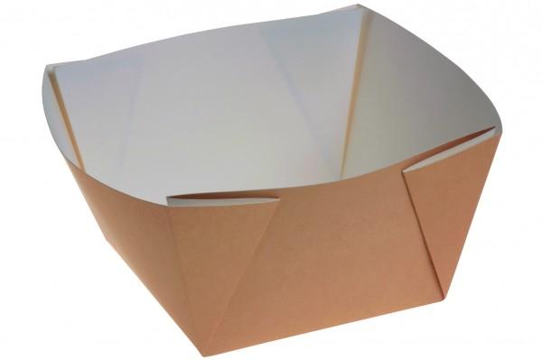 Kartonbox braun 2000ml - 177x177x100mm