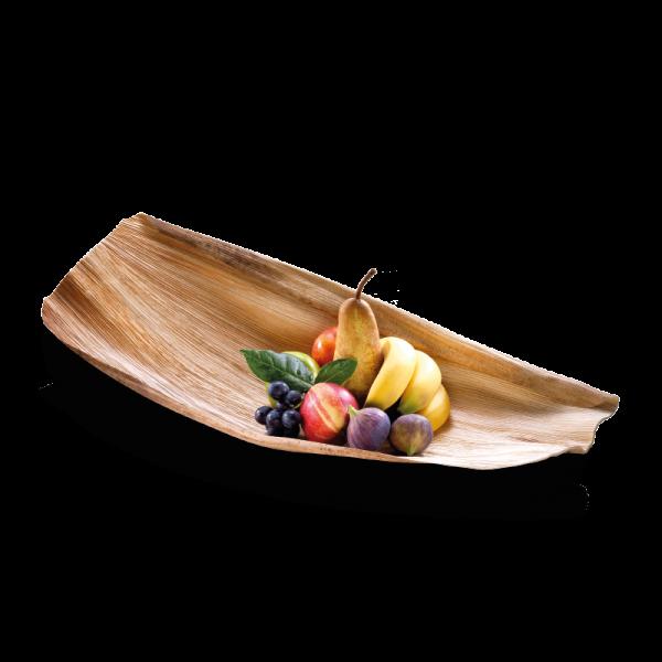Palmblatt-Schale ganz 30 x 50 cm - Barcelona- einzeln