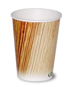 Kaffee Kartonbecher Druck Palmblatt 0,3 l