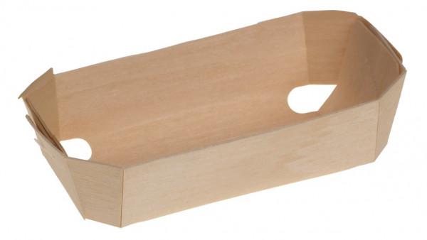 Holzbackform genäht Ulm 115x65x35mm ca. 200ml