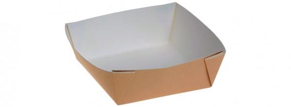 Kartonbox braun 350ml - 115x115x40mm