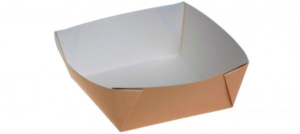 Kartonbox braun 600ml - 135x135x50mm