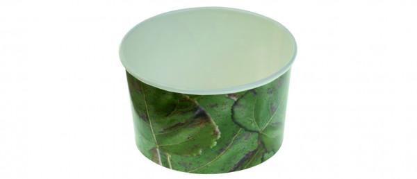Eisbecher aus Zellulose - 200 ml - Tipo 130 , Farbe: Grün
