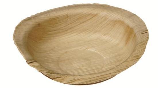 Palmblatt-Dip-Schale rund, Ø 12cm - Nizza