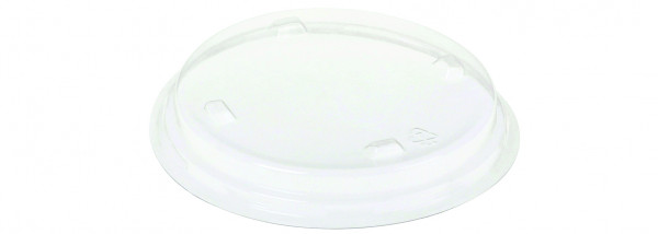 Deckel PLA zu Dessertbecher 390 ml, klar